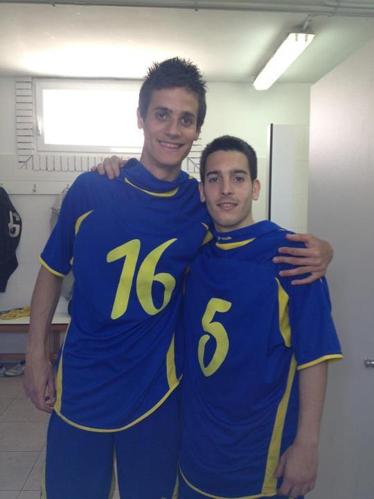 Benji y Alexandre, dos apisonadoras, que bloquearon a los amarillos a lo largo del partido, ambos con un hattrick
